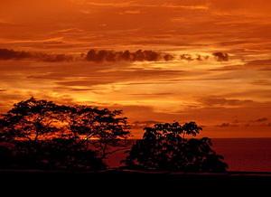 Коста-Рика, закат