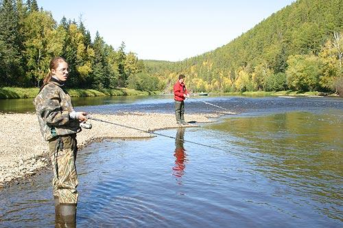 море время и рыбалки