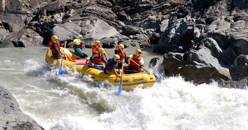 Chuya and Katun Rivers Whitewater Rafting
